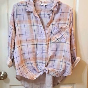 Time n True Button front shirt